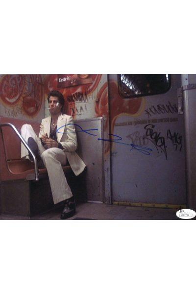 John Travolta 8x10 Photo Signed Autographed Auto JSA COA Saturday Night Fever