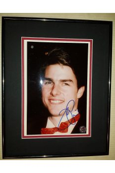 Tom Cruise 8x10 Signed Autographed Framed