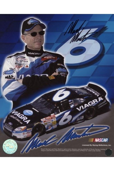 Mark Martin 8x10 Photo Signed Autographed Auto Authenticated COA NASCAR