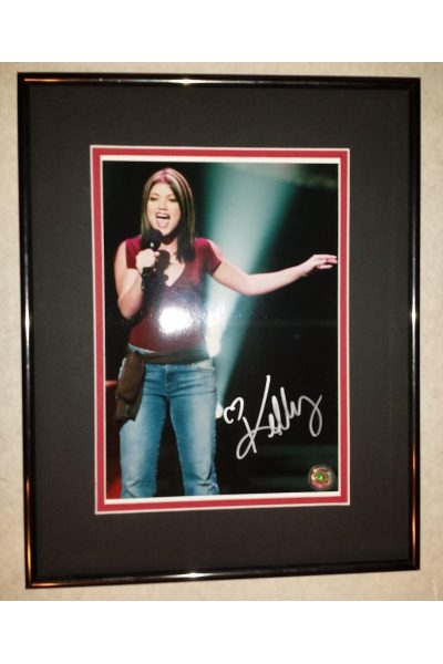 Kelly Clarkson 8x10 Signed Autographed Framed American Idol