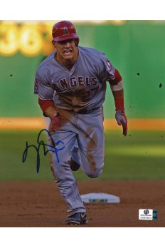 Mike Trout Signed 8x10 Photo Autographed Auto GA GAI COA Angels