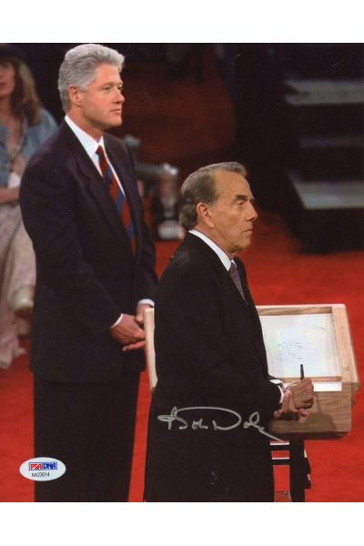 Bob Dole 8x10 President Photo Signed Autographed PSA DNA Kansas Senator