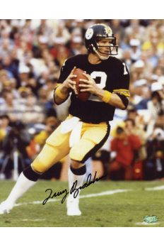 Terry Bradshaw Signed 8x10 Photo Mounted Memories Autographed Steelers HOF
