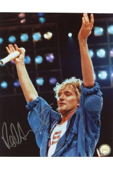 Rod Stewart 8x10 Signed Autographed