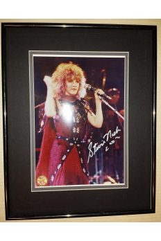 Stevie Nicks 8x10 Signed Autographed Framed Fleetwood mac