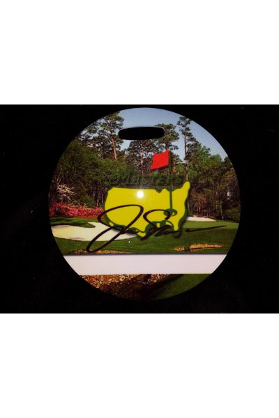 The Masters Golf Bag Tag Jack Nicklaus Facsimile Signature Very rare Circa 1998