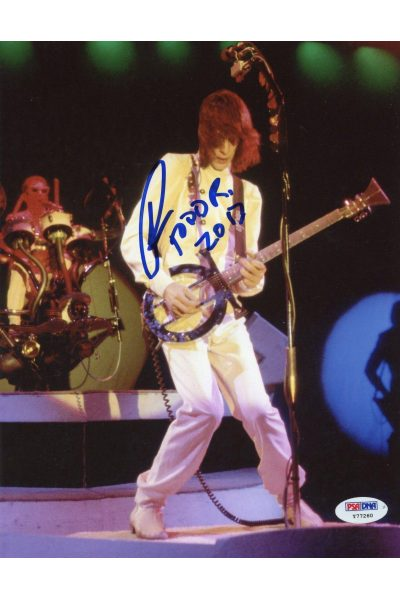 Todd Rundgren 8x10 Photo Signed Autographed PSA DNA