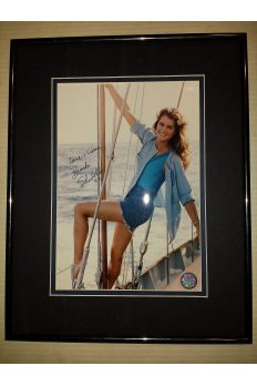 Brooke Shields 8x10 Signed Autographed Framed