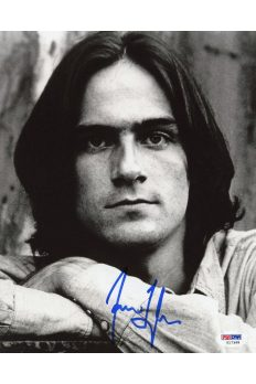 James Taylor 8x10 Photo Signed Autographed Auto PSA DNA COA Fire and Rain Carolina