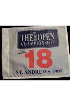 Arnold Palmer Signed 1995 St. Andrews Flag Autographed