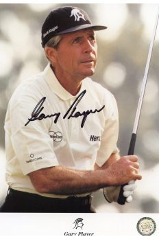 Gary Player Signed 8x10 Photo Autographed