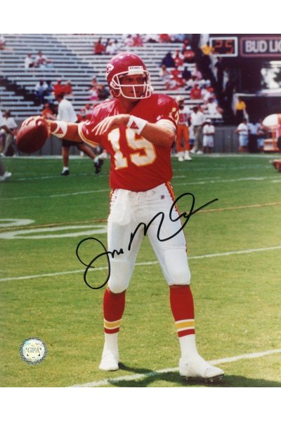 Joe Montana Signed 8x10 Photo Autographed