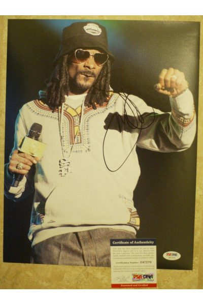Snoop Dogg 11x14 Photo Signed Autographed Auto PSA DNA