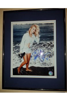 Pamela Pam Anderson 8x10 Signed Autographed Framed Baywatch