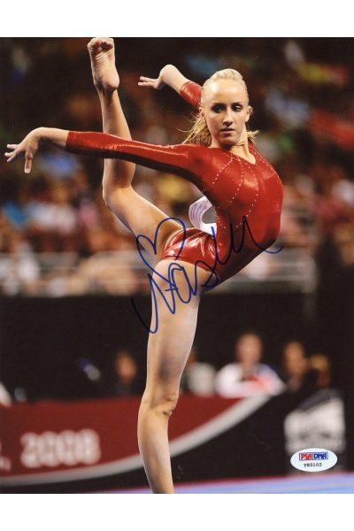 Nastia Liukin 8x10 Photo Signed Autographed Auto PSA DNA Olympic Gold Gymnast