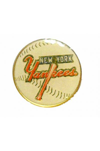 New York Yankees Lapel / Hat Pin Round
