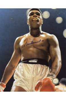 Muhammad Ali Signed 8x10 Photo Autographed Floyd Patterson Fight