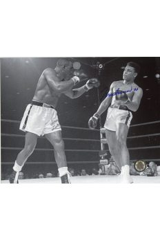 Muhammad Ali Signed 8x10 Photo Autographed Sonny Liston Fight