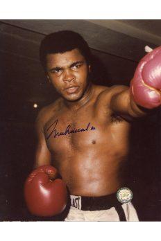 Muhammad Ali Signed 8x10 Photo Autographed Left Jab