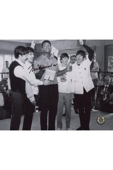 Muhammad Ali Signed 8x10 Photo Autographed The Beatles The Greatest