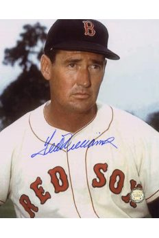 Ted Williams Signed 8x10 Photo Autographed Portrait Color