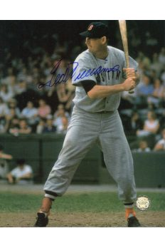 Ted Williams Signed 8x10 Photo Autographed Batting at Plate