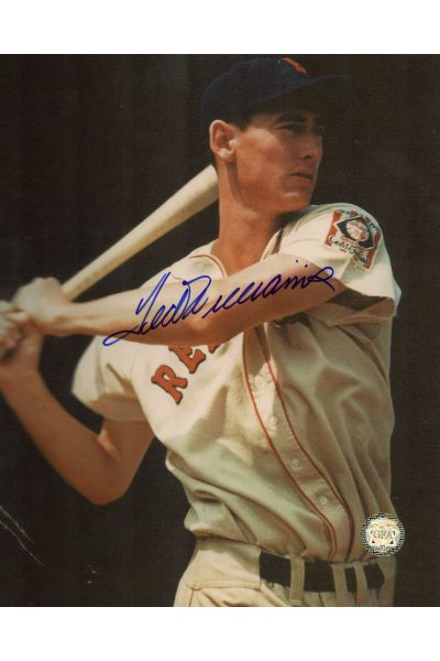 Ted Williams Signed 8x10 Photo Autographed Posed 1939