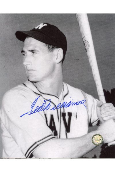 Ted Williams Signed 8x10 Photo Autographed Minor League