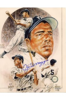 Joe DiMaggio Signed 8x10 Photo Autographed Yankee Clipper 1941