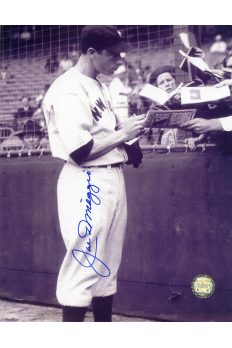 Joe DiMaggio Signed 8x10 Photo Autographed Signing Autographs