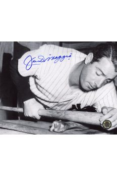 Joe DiMaggio Signed 8x10 Photo Autographed Putting Pine Tar on Bat