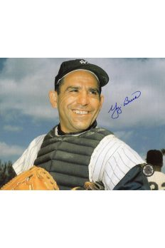 Yogi Berra Signed 8x10 Photo Autographed Posed head shot