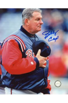 Bobby Cox Signed 8x10 Photo Autographed Manager Atlanta Braves