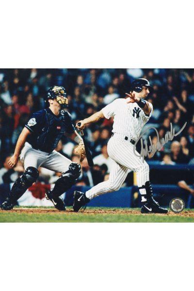 Jorge Posada Signed 8x10 Photo Autographed Yankees