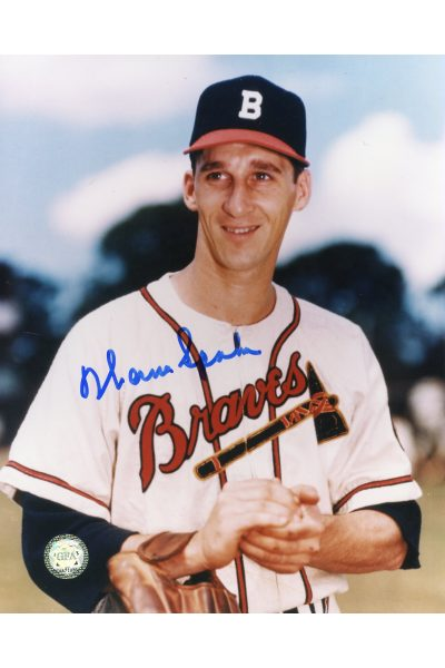 Warren Spah Signed 8x10 Photo Autographed Braves HOF