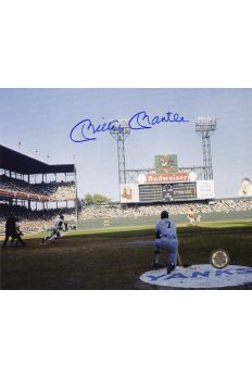 Mickey Mantle Signed 8x10 Photo Autographed 1964 World Series Roger maris Batting