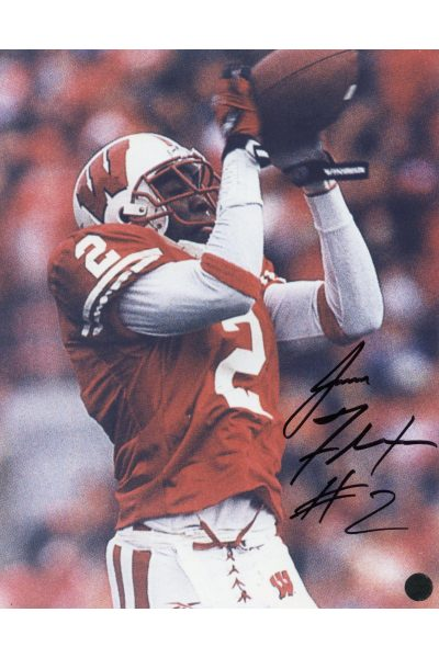 Signed Autographed Jamal Fletcher WI Autographed 8x10 Badgers