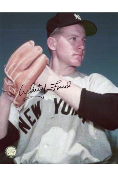 Whitey Ford Signed 8x10 Photo Autographed
