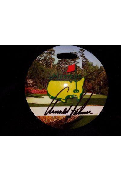 The Masters Golf Bag Tag Arnold Palmer Facsimile Signature Very rare Circa 1998