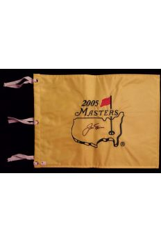 Jack Nicklaus Signed Undated Masters Flag Autographed GAI